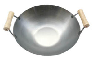 stainless-steel-usa-made-wok-w-two-wooden-spool-handles-lid-sold-separately-49