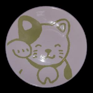 cat_plate_green